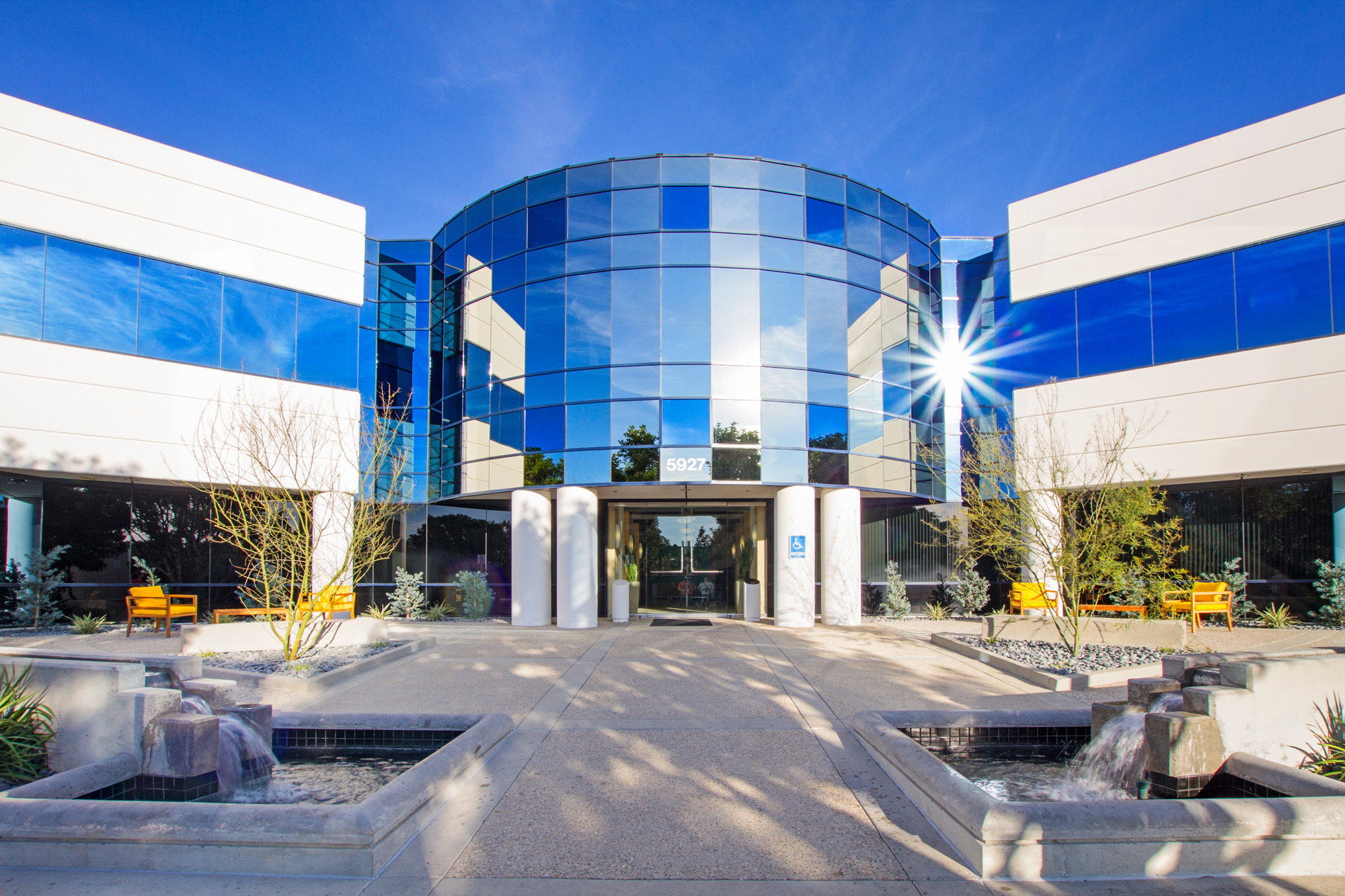 Exterior photo of The Directors Lofts at Rutherford Corporate Center in Carlsbad, CA