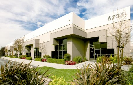 Exterior photo of building 6736 at Altamont Business Centre, a 151,139 SF office located in a beautiful park-like setting only minutes from I-580.