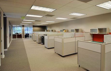 Colliers - cubicles at Hacienda West, a 208,883 SF Class A office project located in the prestigious Hacienda Business Park in Pleasanton, CA