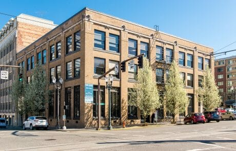 1022 SW Salmon brick building in Portland, OR, Downtown, West End