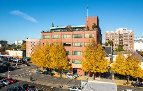1121 SW salmon is a 5 Story brick building in Portland's Downtown West End. Harsch's corporate headquarters.