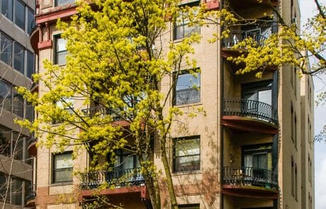 Located near Portland's downtown Park Blocks, Lexington Apartments is 100% Section 8 housing for low income seniors and the disabled.