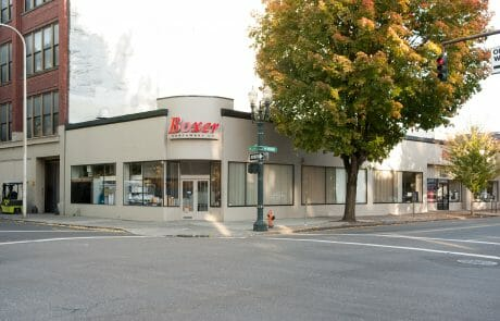 Boxer Northwest Co. is a 46,000-square-foot property consisting of both retail and supporting warehouse components located adjacent to the thriving Pearl District and the Central Business District
