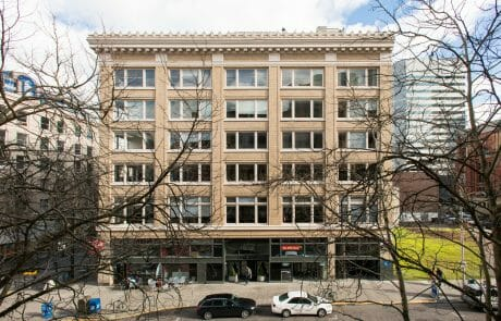 The completely renovated Director Building is located just across from the 400,000 SF Pioneer Square office and retail complex in Downtown Portland.