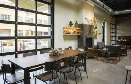 The 27,600 SF headquarters and tasting room of Steven Smith Teamaker, located in Portland's Central Eastside Industrial District.