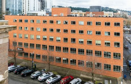 Built in 1957, the 66,074 square foot Eleven-Eleven building is located in Portland's Cultural Districta and features five stories plus two basement levels.
