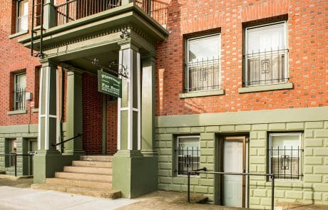 With a WalkScore of 99, the Pinecone Apartments offer spacious 1 bedroom units with vintage brick charm and close proximity to all downtown Portland has to offer.