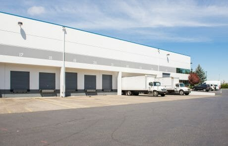 Rivergate Distribution Center offers 126,000 SF of state of the art construction including a side loading area, bright skylit interior warehouse spaces, and two-story office possibilities.