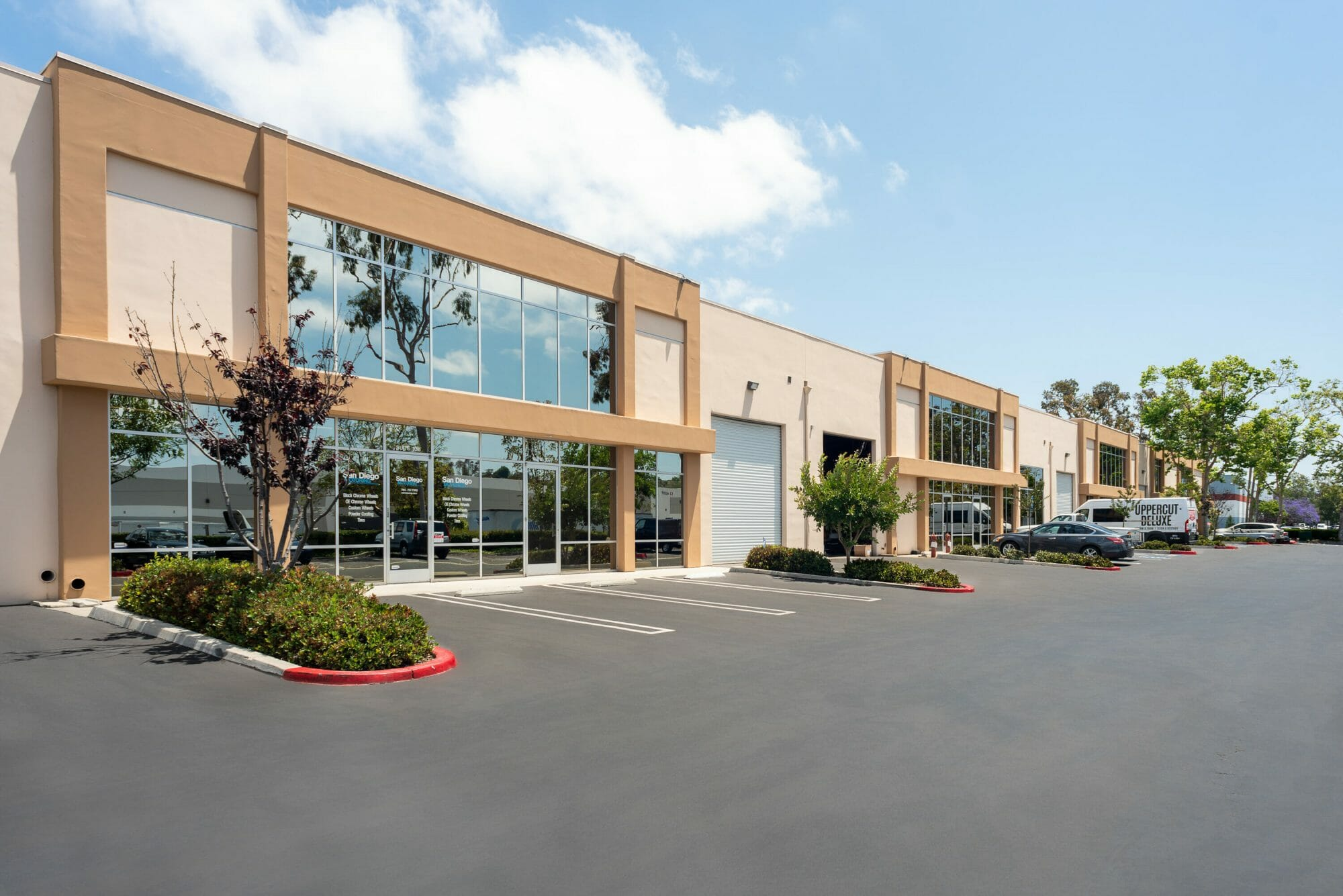 Oceanside Business Center is an 80,600 square foot office and warehouse building located in the master planned Rancho Del Oro Business Park.