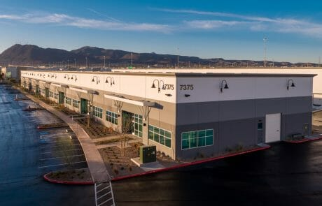 Exterior of building 7375 at Henderson Commerce Center - Commercial Way