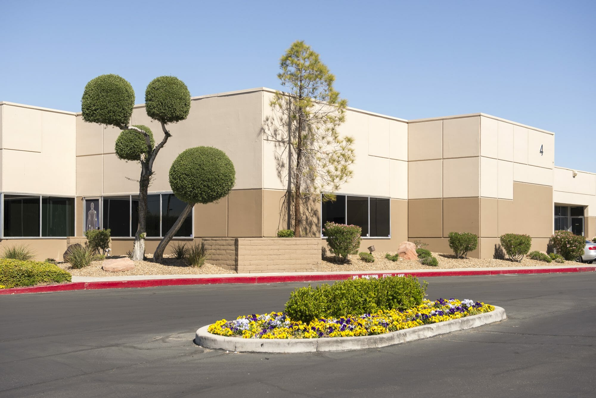 Exterior and landscaping at Eastern Commerce Center
