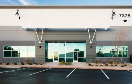 architectural details of building 7375 at Henderson Commerce Center - Commercial Way