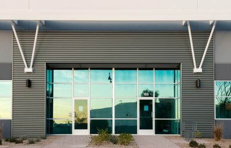 architextural details at Henderson Commerce Center - Commercial Way