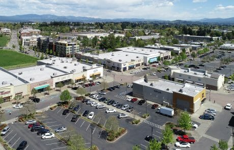 Aerial view of Gresham Station Shopping Center