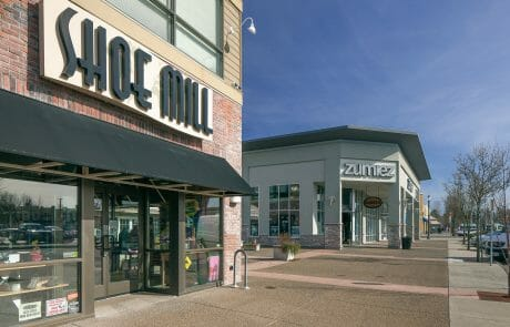 Shoe Mill and Zumiez at Gresham Station Shopping Center