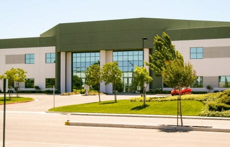 Exterior of building at Las Positas Commerce Center