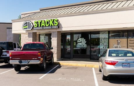 Stacks Burgers at Seatac Village Shopping Center
