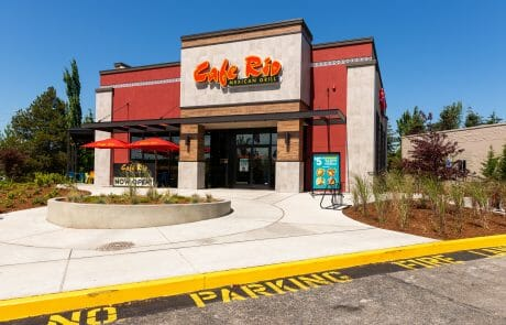 Cafe Rio at Seatac Village Shopping Center
