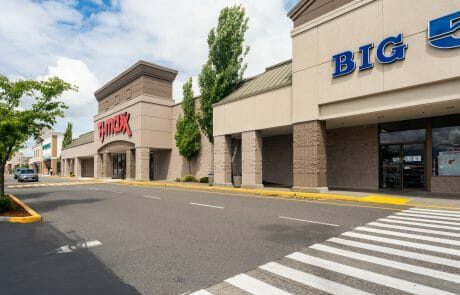 Big 5 and TJ Maxx at Seatac Village Shopping Center