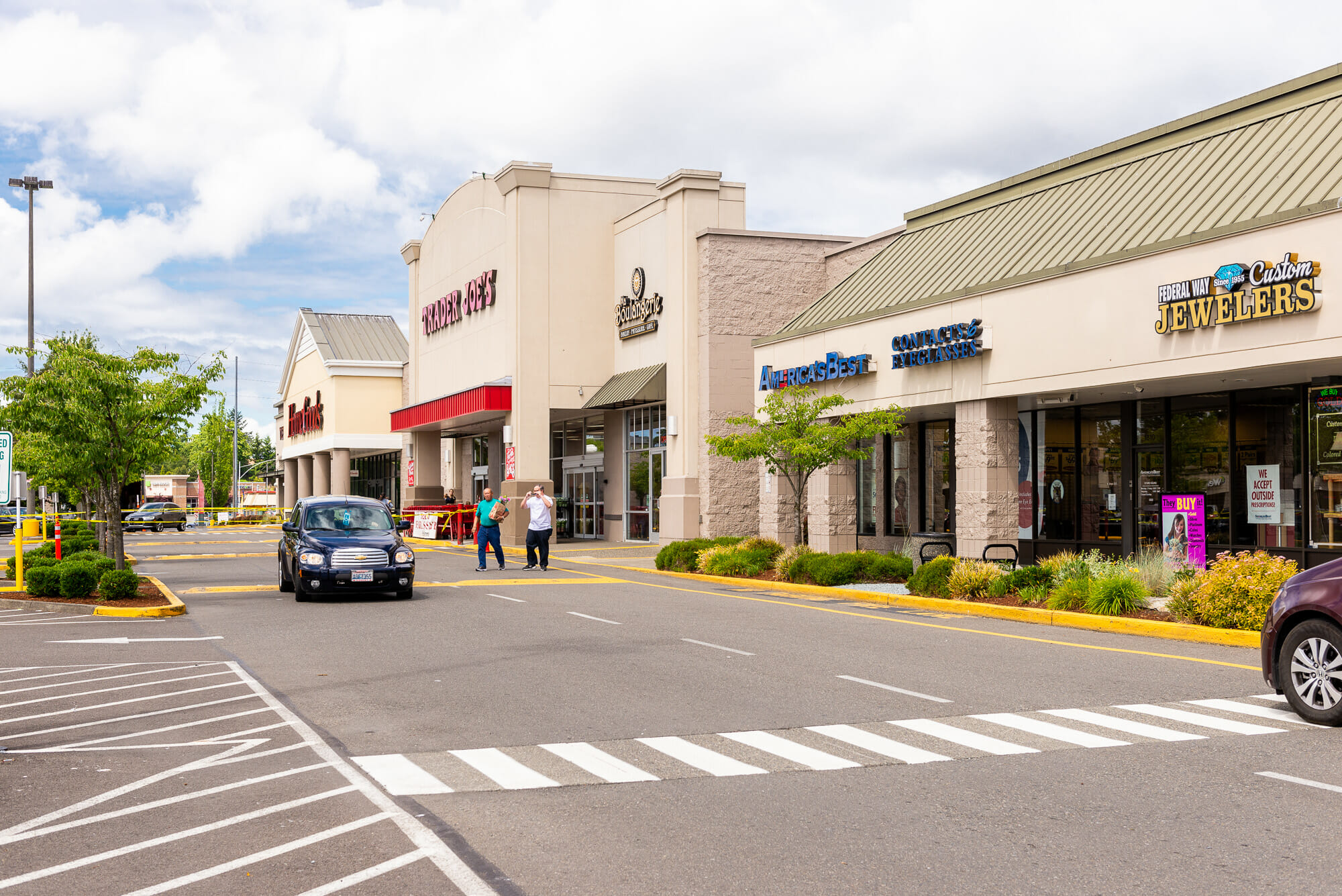 Federal Way Jewelers and Trader Joes at Seatac Village Shopping Center