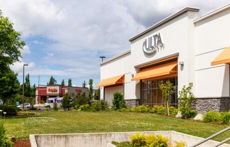 Ulta Beauty and Cafe Rio at Seatac Village Shopping Center