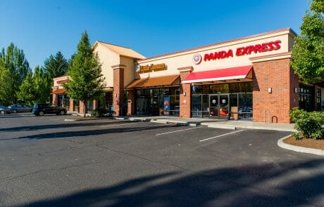 Panda Express and Little Caesars at Tigard Towne Square