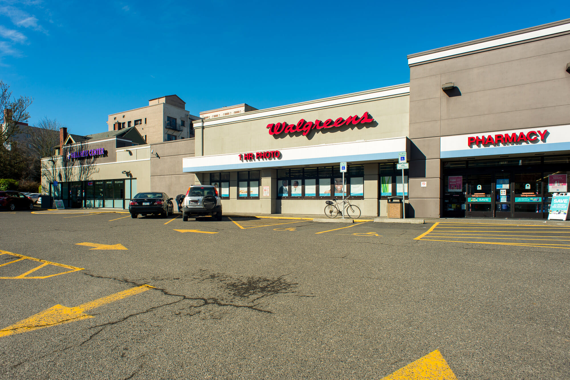 Walgreens and Wellness Center at Stadium Shopping Center