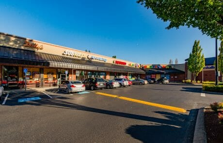 Storefronts at Tigard Towne Square