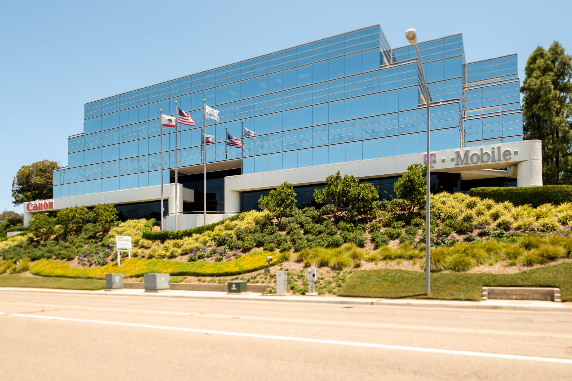 Glass Front of Sorrento Heights Corporate Center