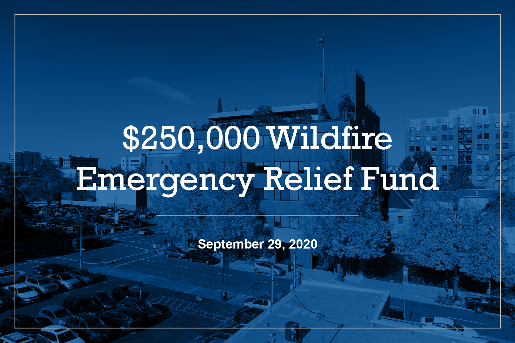 Volunteers of America Oregon wildfire relief fund
