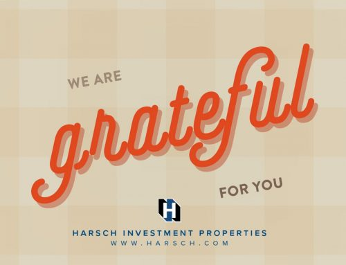 Happy Thanksgiving from Harsch Investment Properties